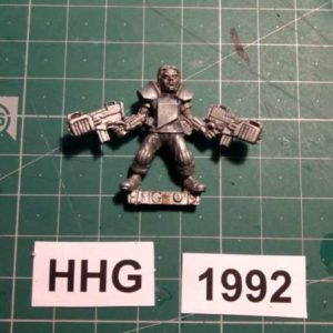 8008 - cartel consultant with hellblazer sub machine gun - cartel - 1992 - hhg - unknown (blister)