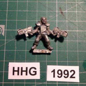 8008 - cartel consultant with hellblazer sub machine gun - cartel - 1992 - hhg - unknown (blister)