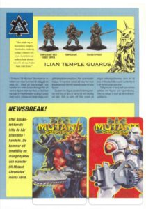 Miniature of Mutant Chronicles from the first edition of the RPG - 1992 SINKADUS 38 - 07