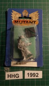 Miniature of Mutant Chronicles from the first edition of the RPG - 7001 - nepharite - dark legion - 1992 - hhg - unknown (blister)