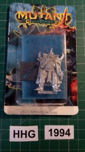 Miniature of Mutant Chronicles from the first edition of the RPG - 8115 - nepharite alakhai - dark legion - 1994 - hhg - unknown (blister)