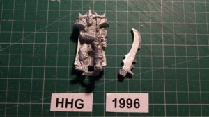 Miniature of Mutant Chronicles from the first edition of the RPG - Alakhai