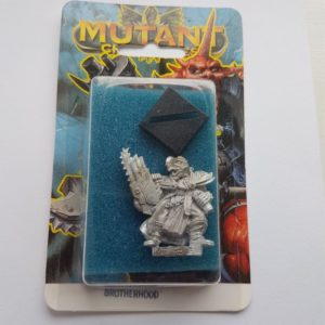 Miniature of Mutant Chronicles from the first edition of the RPG - Blue Illustrated Background 1