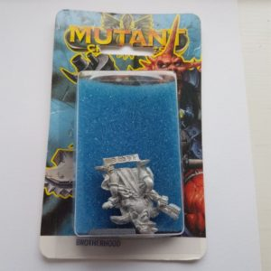 Miniature of Mutant Chronicles from the first edition of the RPG - Blue Illustrated Background 2